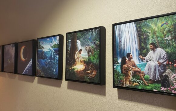 Hillside Christian School Receives Nathan Greene Creation Picture Series