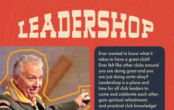 Leadershop at Camp Wakonda October 30-November 1, 2020