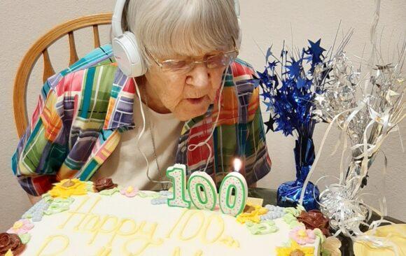 Mildred Rien Solstad of Menomonie Church Celebrates Her 100th Birthday