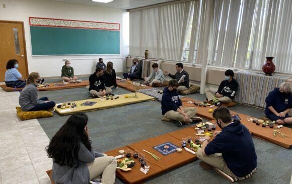 "Wisconsin Academy Juniors Enjoy ""Passover"" Meal"