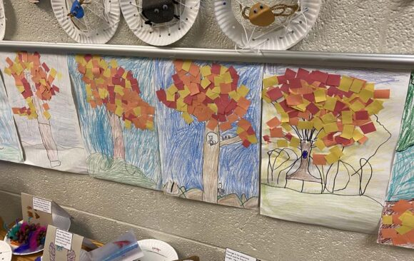 Creating Autumn Art Projects at Green Bay Adventist Junior Academy