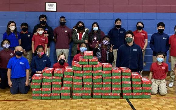 Milwaukee Students Pack 63 Operation Christmas Child Boxes