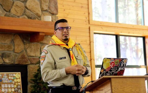 Wisconsin Conference Youth Director, Eric Chavez, Invested as Master Guide During Pathfinder Leadershop Weekend