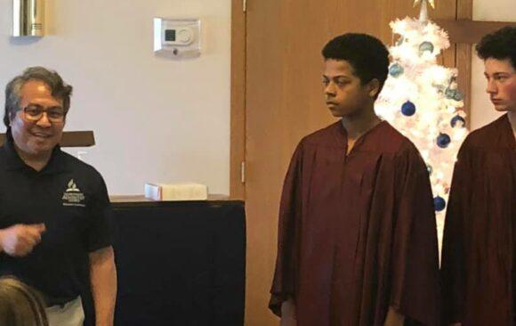Monroe Celebrates Two Youth Baptisms