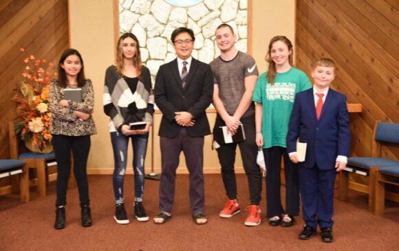 Waukesha Celebrates Five Baptisms