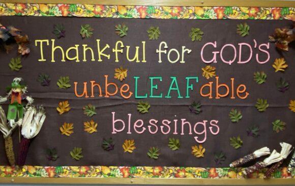 Inspiring Posters at Three Angels School