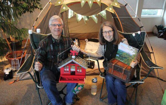 Virtual Retirement Party for Elder Mike and Juanita Edge