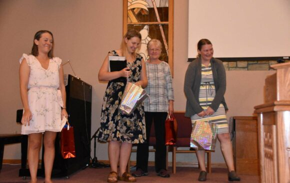 Four Ladies Join  Chippewa Valley Church Through Baptism