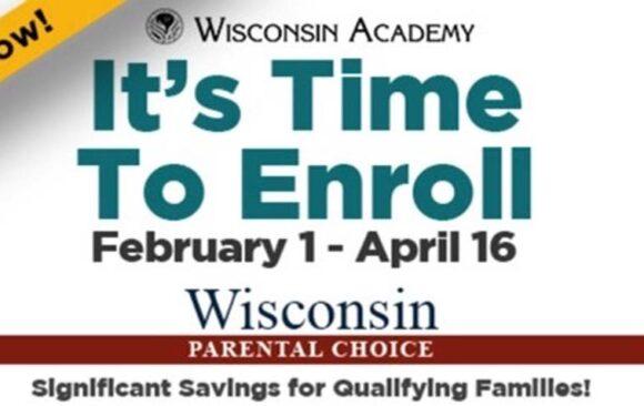Wisconsin Parental Choice Program Enrollment Opens February 1st
