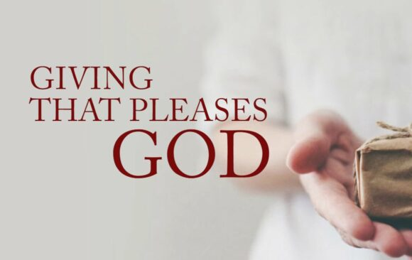 Giving that Pleases God