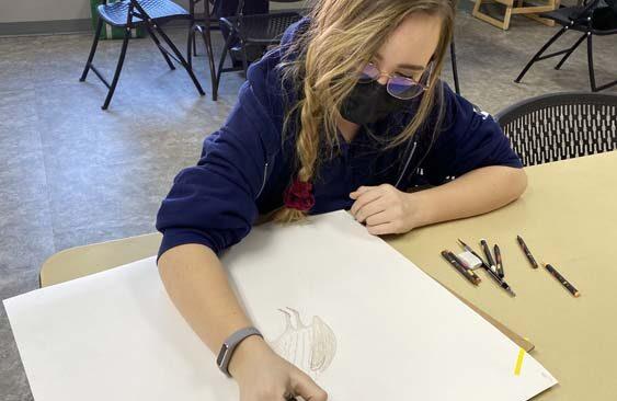 Art Class at Three Angels Christian School