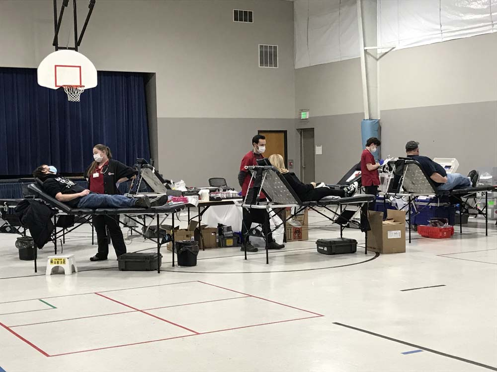Madison East Hosts Successful Blood Drive