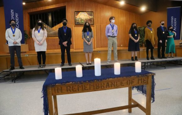 Nine Wisconsin Academy Students Inducted into the National Honor Society