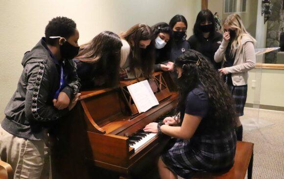 Piano Donated to Wisconsin Academy Women's Dorm