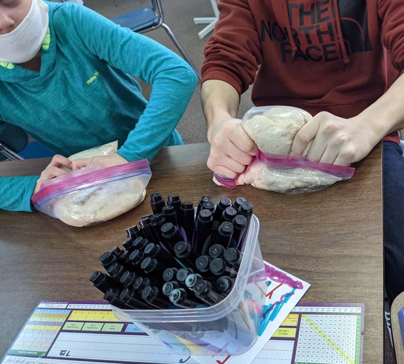 Petersen Adventist School Bakes Bread to Share