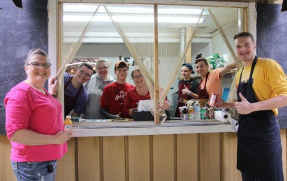 Snack Shack to Serve Ice Cream at Camp Meeting