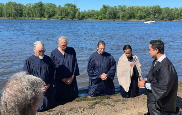 Holy Spirit Conviction Leads to Four Baptisms in Durand