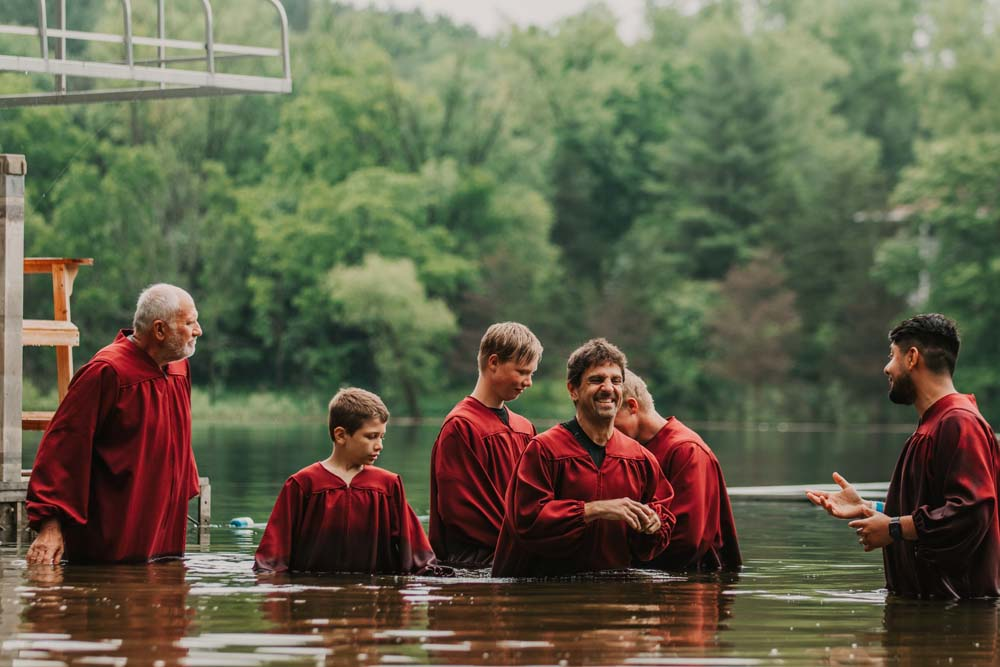 Baptisms at Camp Meeting 2021