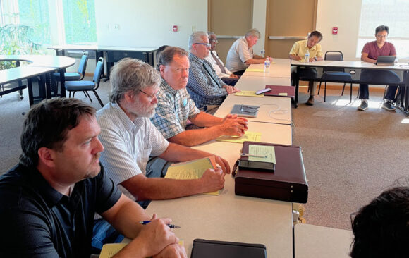 Executive Committee Meets In-Person First Time Since Covid