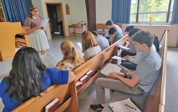 Sabbath School Groups Organize at Wisconsin Academy