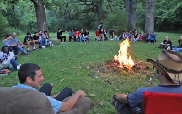 Vespers in the Grove at Wisconsin Academy