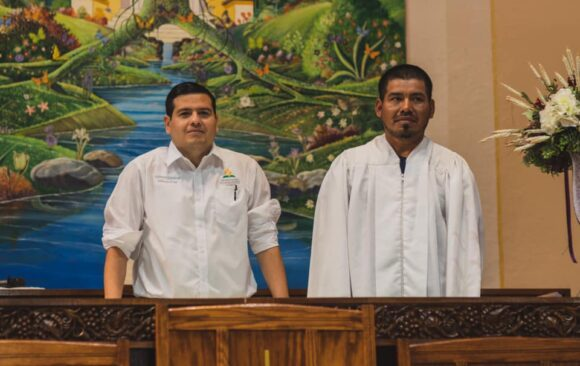 Celebrating Baptisms in Milwaukee Central Hispanic Church
