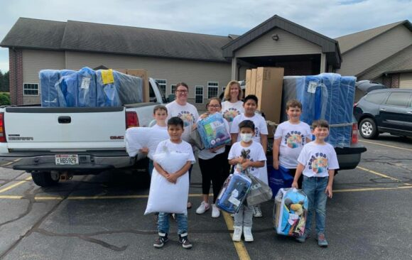 The Shepherd's House and Hillside Christian School Provide Beds for Kids in Need