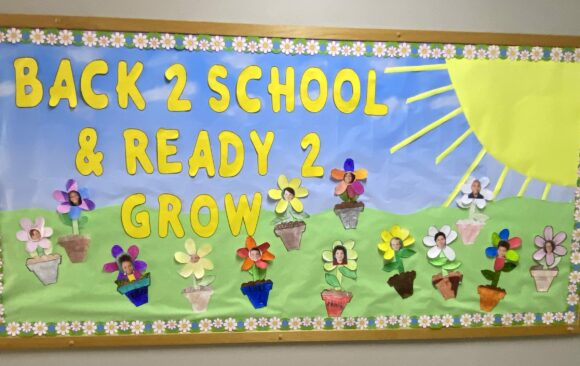 Awesome Bulletin Boards at Three Angels Christian School