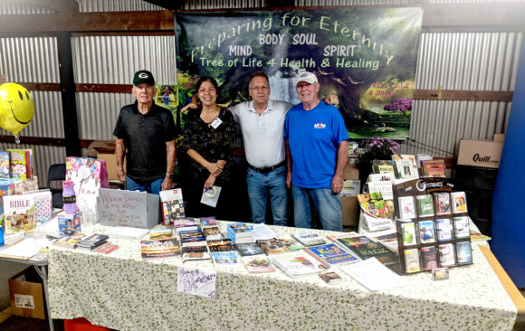 Richland Center Members Provide Health Booth Ministry at Local County Fair