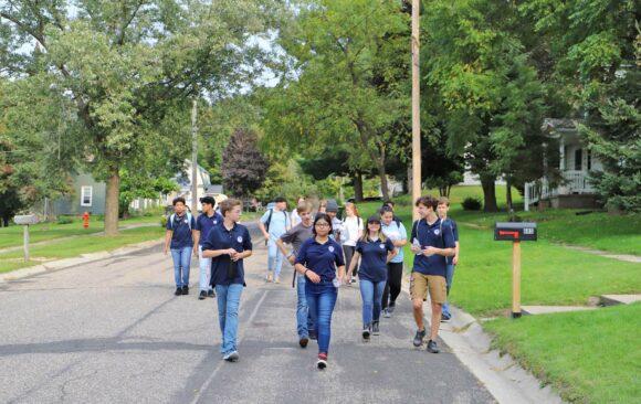 Wisconsin Academy: Door to Door in Richland Center