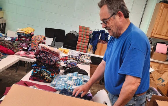 Wisconsin ACS Delivered Over $10,000 Worth of Items to Afghanistan Refugees in Fort McCoy