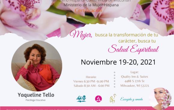 Certificación Salud Espiritual/Spiritual Health Certification